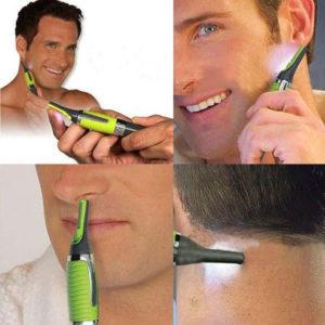 Tondeuse de précision pour cheveux, barbe, nez et oreilles