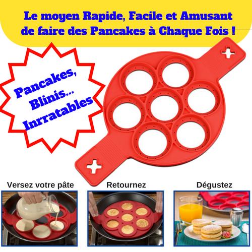 Moule à Pancake en silicone 31