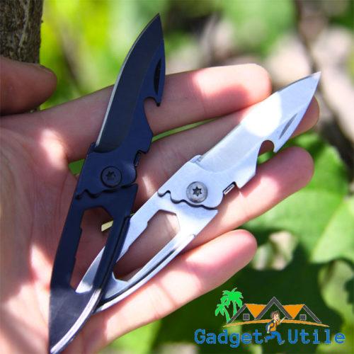 Mini couteau de poche multifonction - Boutique Gadget Utile, couteaux camping, couteaux de poche,